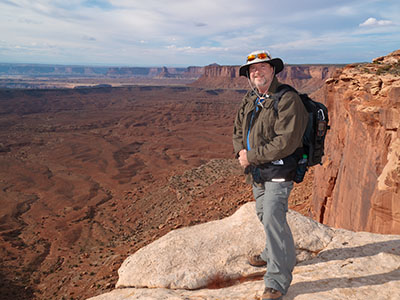 Steve Girimont in Canyonlands National Park, Utah